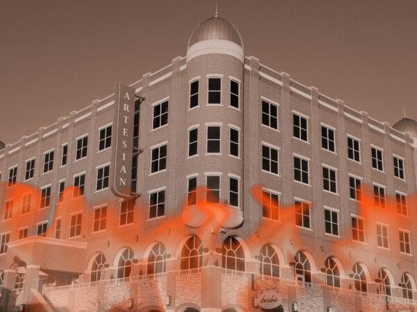 Why Did the Artesian Hotel Burn in 1962?