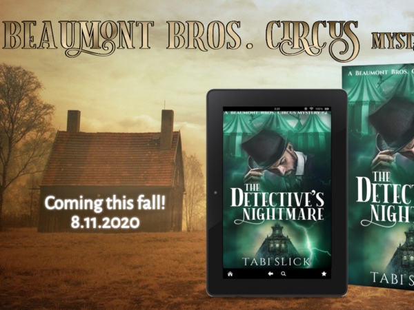 The circus mystery series continues!